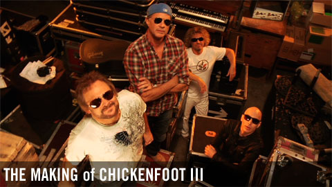 The Making of Chickenfoot III: Part 1/3